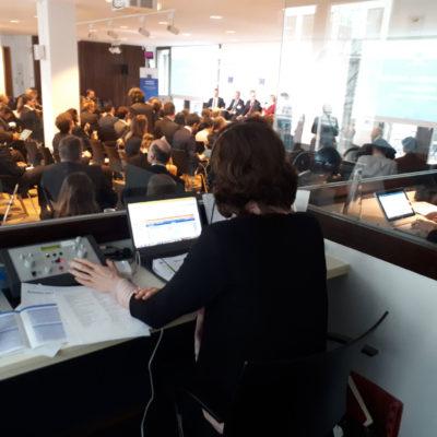 Dolmetschertechnik Kabine Konferenz