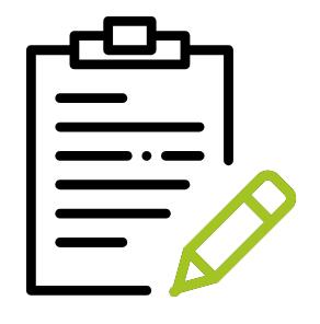 Symbol: Notizblock für Konsekutivdolmetschen